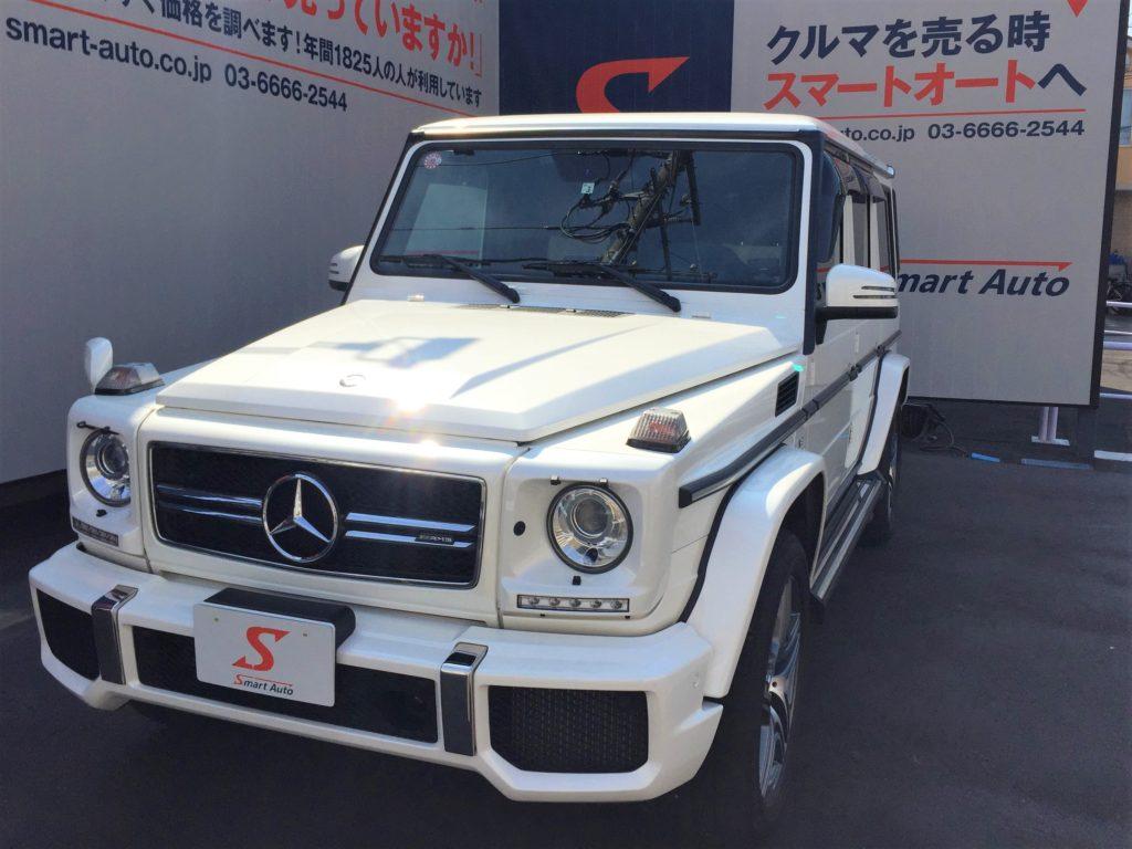 輸入車・外車のお買取なら当店へ。高価、お買取をさせて頂きました。<メルセデス・ベンツ AMG G63>