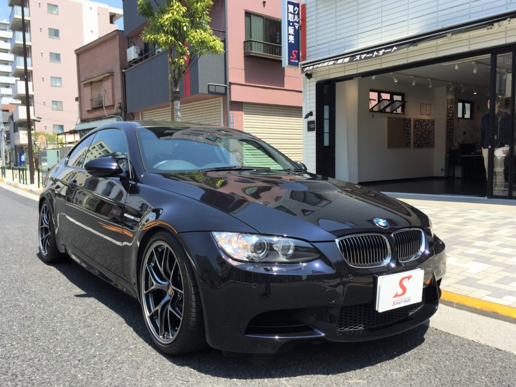 外車・輸入車のお買取ならスマートオートへ! 高価お買取をさせていただきました<BMW M3クーペ>