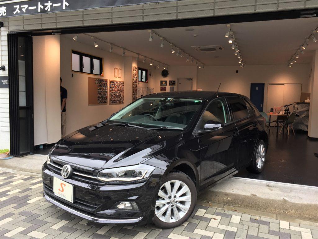 外車・輸入車のお買取ならスマートオートへ!2018年式 フォルクスワーゲン POLO TSI ハイライン を高価お買取させて頂き、弊社販売車両に追加しました。