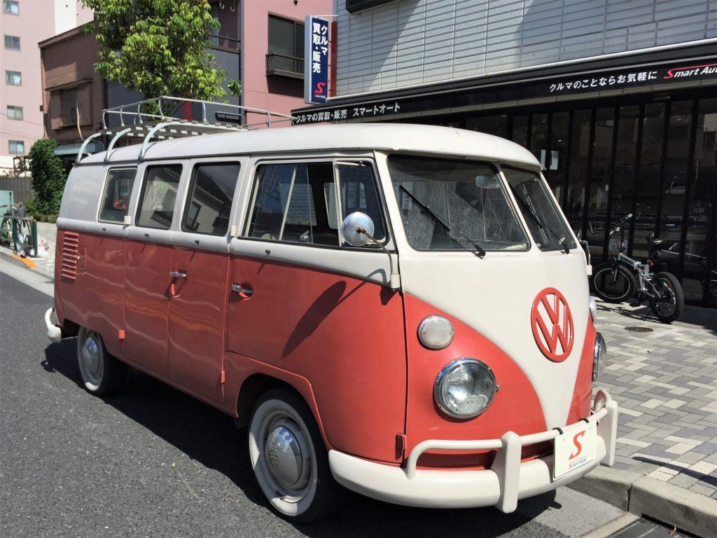 外車・輸入車・ヴィンテージ車のお買取ならスマートオートへ!高価お買取をさせて頂きました VW フォルクスワーゲン タイプⅡ