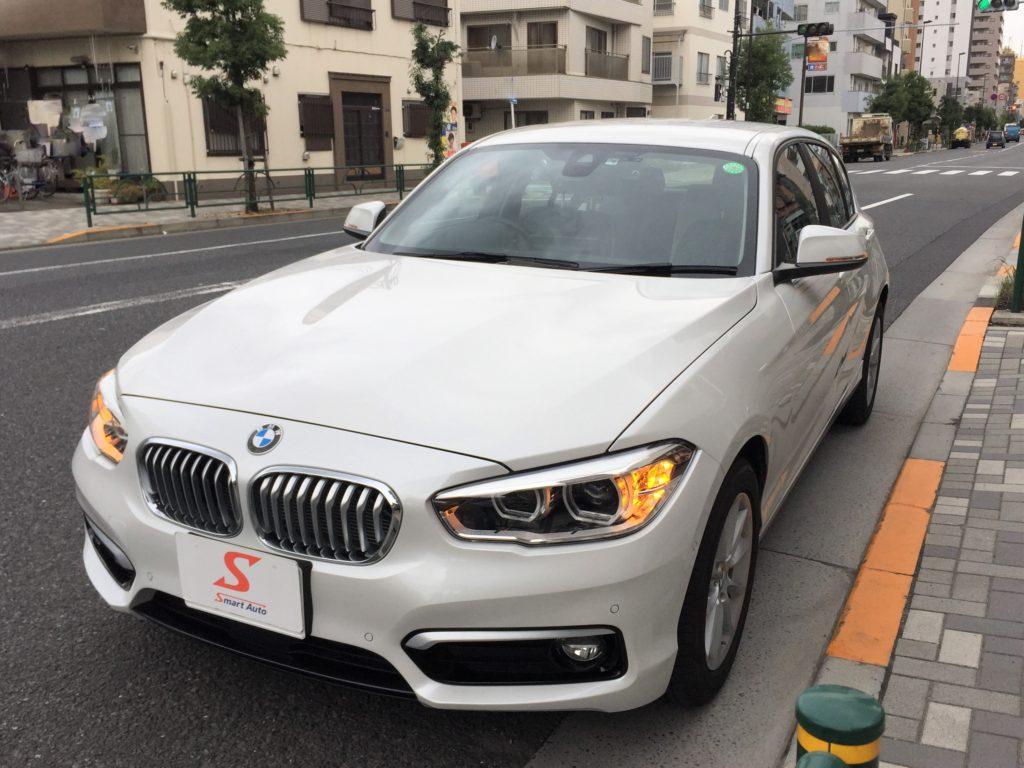 外車・輸入車のお買取ならスマートオートへ!高価お買取をさせていただきました<BMW 118i Style>