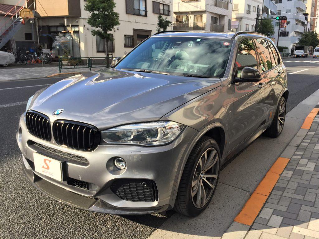 外車・輸入車のお買取ならスマートオートへ!高価お買取をさせて頂きました BMW X5.