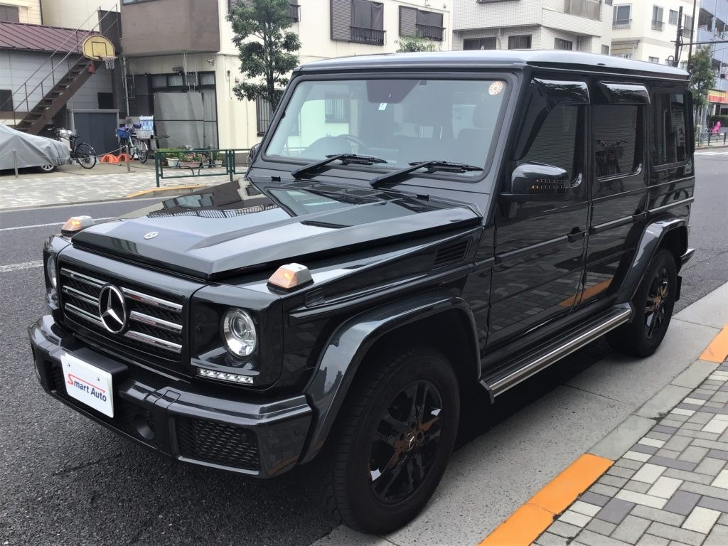 外車・輸入車・外車のお買取なら東京都江東区スマートオートへ!高価お買取をさせていただきました G350d