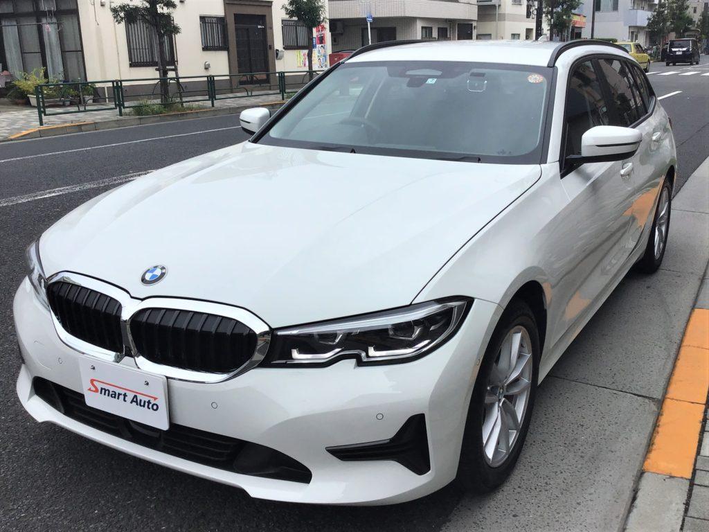 外車・輸入車のお買取ならスマートオートへ。2021年式 BMW 320d xDrive ツーリング を高価お買取させて頂き、販売車に追加しました。